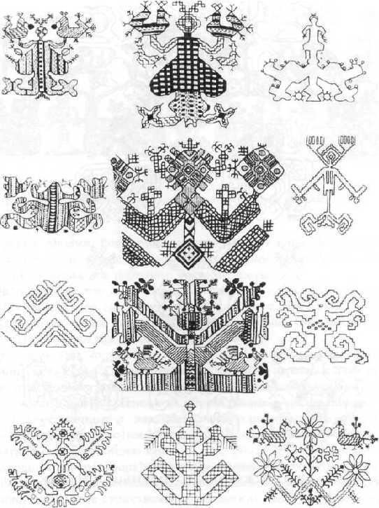женщины в русской вышивке