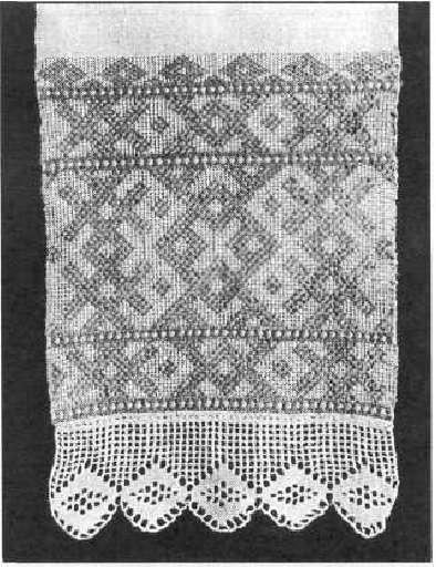 Вязание крючком узоры на полотенцах