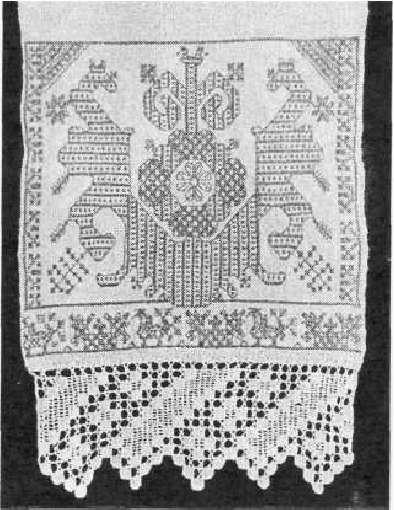 Рушник - изделие, сделанное