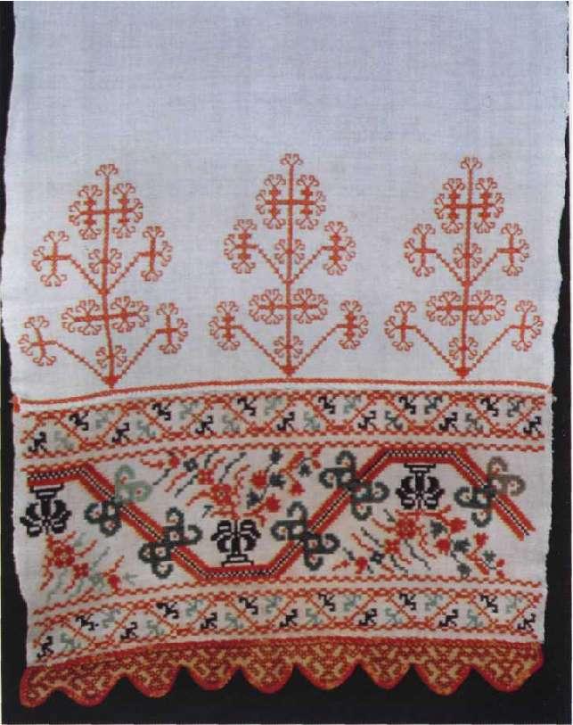 Сокольская вышивка